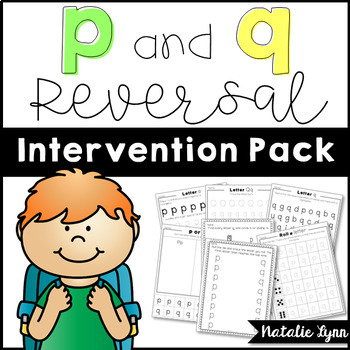 p and q reversal intervention pack