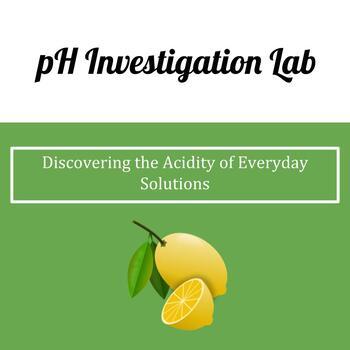 pH Investigation Lab