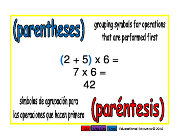 parentheses/parentesis prim 1-way blue/rojo