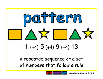 pattern/patron geom 2-way blue/rojo