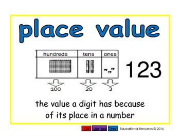 place value/valor posicional prim 2-way blue/verde