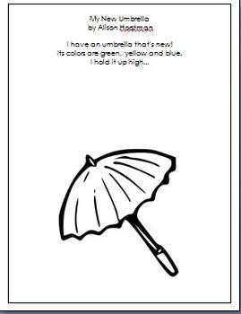 poem:  My New Umbrella