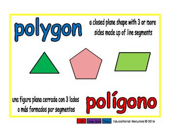 polygon/poligono geom 1-way blue/rojo