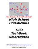 preCalculus or Algebra 2 TBS: TechBook SmartNotes - Entire
