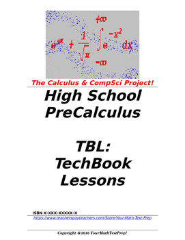 preCalculus or Algebra 2 TBL: TechBook Lessons - Chapter 8