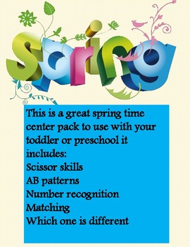 preschool spring numbers and more