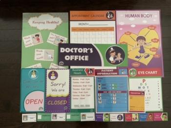 pretend play Doctors office