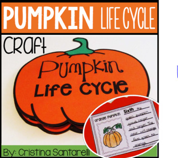 Pumpkin Activities: Pumpkin Life cycle Activity