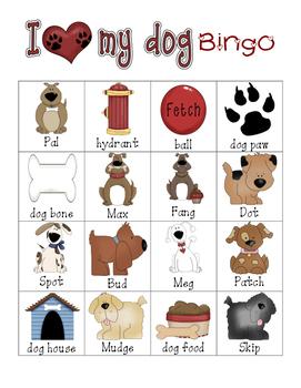 puppy bingo