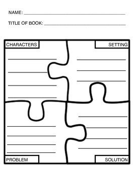 puzzle graphic organizer