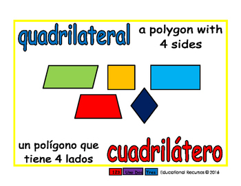 quadrilateral/cuadrilatero geom 1-way blue/rojo