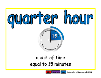 quarter hour/cuarto de hora meas 2-way blue/rojo