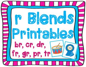 r Blends Printables