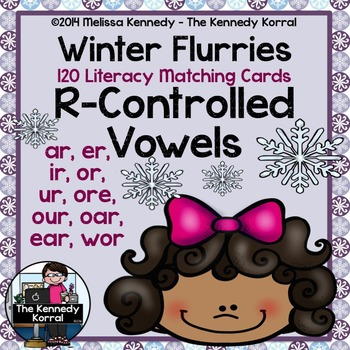 R-Controlled Vowels {AR, ER, IR, OR, UR, ORE, OUR, OAR, EAR, WOR}