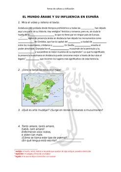 Árabes en España - Arabs in Spain - short history and culture