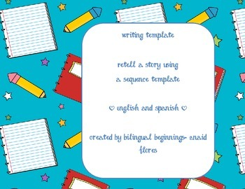 retell writing