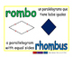 rhombus/rombo geom 1-way blue/verde