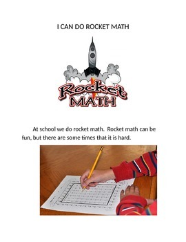 rocket math social story