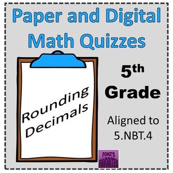 rounding decimals exit slips