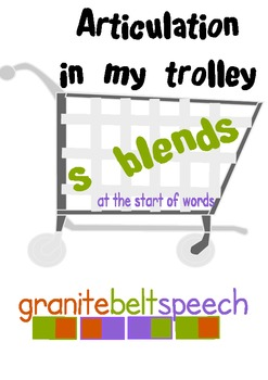 's' Blends In My Trolley Articulation Game