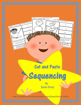 sequencing stories Cut and Paste