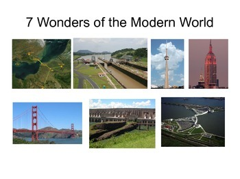 seven modern wonders of the world