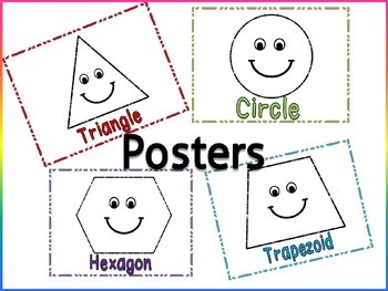 2d shape posters(free)