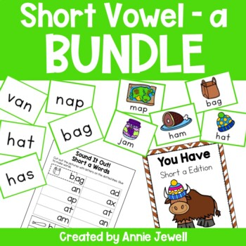 short a BUNDLE Working on Sounds and Words Activities, Fla