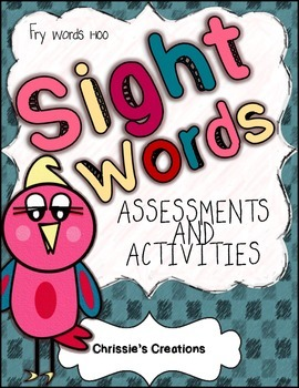 Sight word reading assessments for words 1-100 } includes