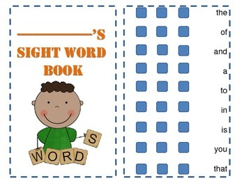 sight word practice book bundle pack