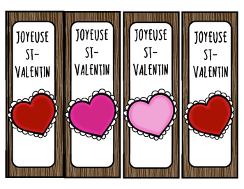 signets pour la St-Valentin