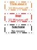 simple color chart labels
