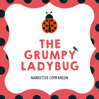 Grouchy Ladybug - Early Literacy Companion: Spring Speech Therapy