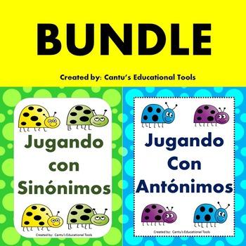 sinonimos y antonimos Bundle
