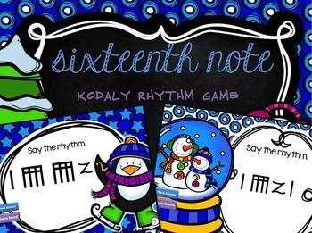 Kodaly rhythm - sixteenth note
