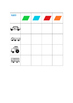 Colors & Nouns Sorting Boards, Autism, Special Education, ABA