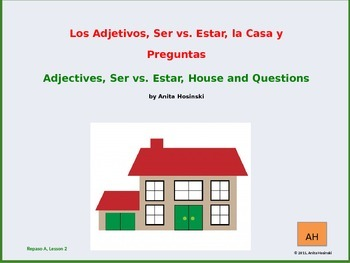 2nd year spanish asi se dice Repaso A teacher Lesson 2 on