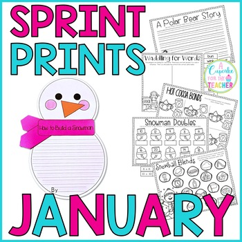 Sprint Prints! January {Printables & Craftivity}