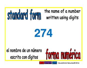 standard form/forma numerica prim 1-way blue/rojo