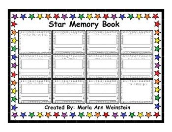 Star Memory Book