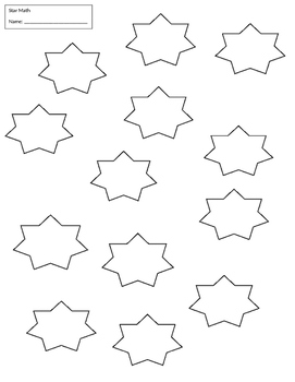 star multiplication practice 0-12