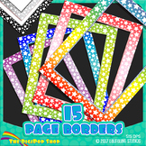 star page borders, product frames, task cards // colorful,