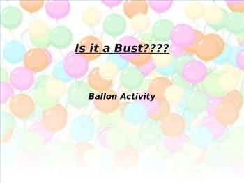 states of matter balloon activity(simple)