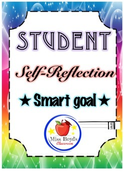 student reflection and smart goal