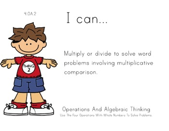 suess Theme 4th Fourth Common Core Posters Math Mathematic