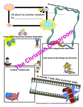 summer reflections packet and exploring summer through the