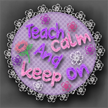 teach calm and keep on store banners