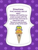 tens and ones {math center activity}