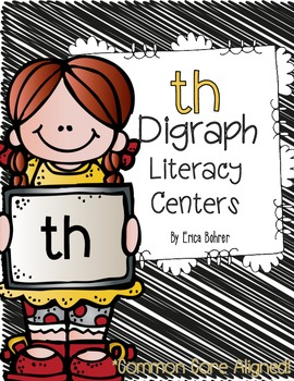 th Digraph Literacy Centers