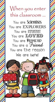 the BRAINY BUNCH - Classroom Decor: SMALL BANNER, When You